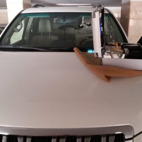 رزین ترمیم شیشه اتومبیل